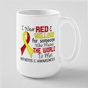 Hepatitis C MeansWorldToMe2 Large Mug
