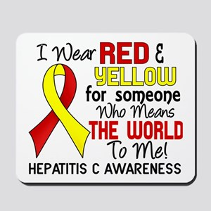 Hepatitis C MeansWorldToMe2 Mousepad