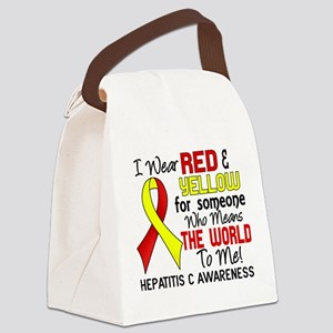 Hepatitis C MeansWorldToMe2 Canvas Lunch Bag
