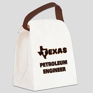 Texas Petroleum Engineer Canvas Lunch Bag