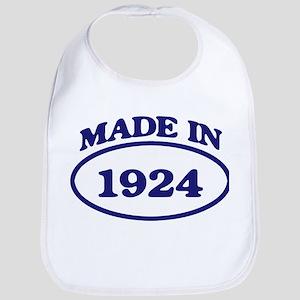 Made in 1924 Bib