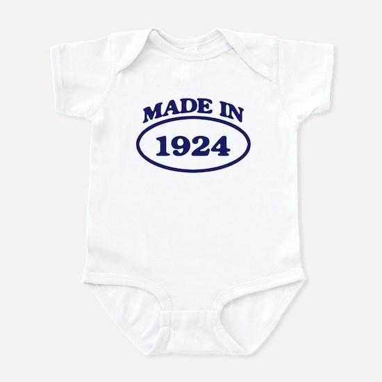 Made in 1924 Infant Bodysuit