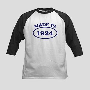 Made in 1924 Kids Baseball Jersey