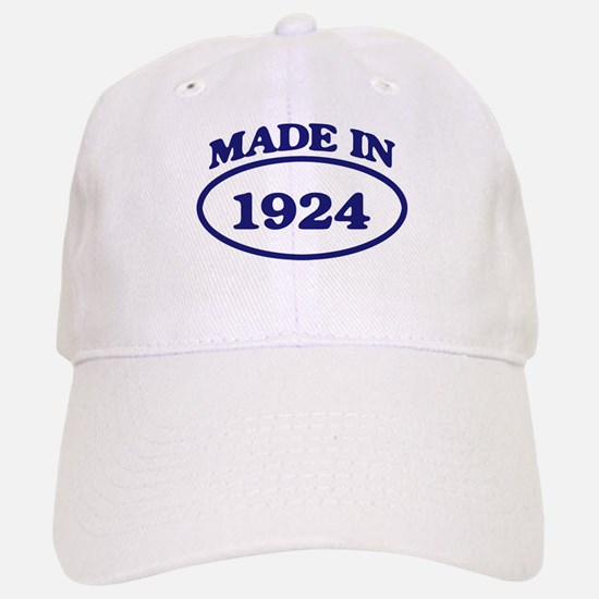 Made in 1924 Baseball Baseball Cap