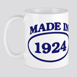 Made in 1924 Mug