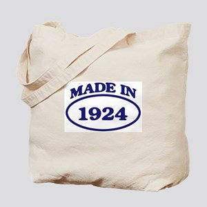 Made in 1924 Tote Bag
