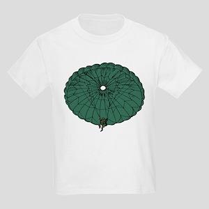 Paratrooper Coming Down Kids T-Shirt