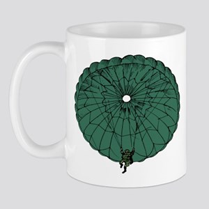 Paratrooper Coming Down Mug