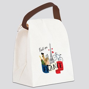 Fait En France Canvas Lunch Bag