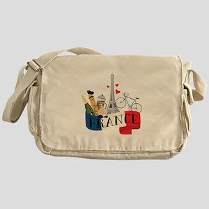 France Messenger Bag