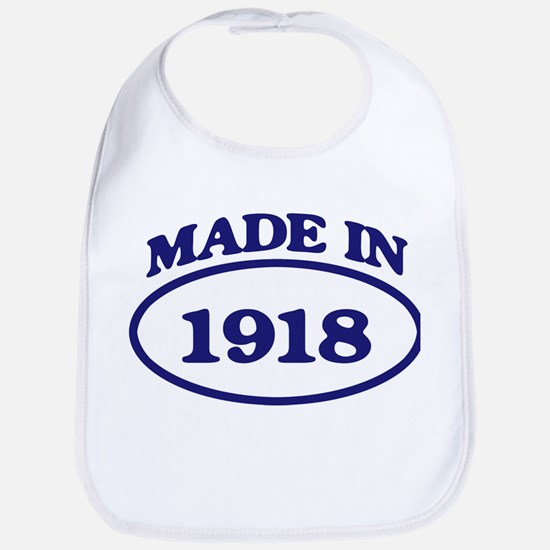 Made in 1918 Bib