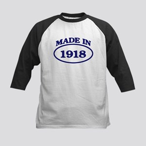 Made in 1918 Kids Baseball Jersey