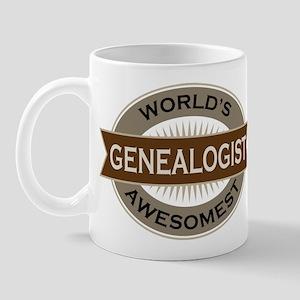 Genealogist Vintage Classic Mug