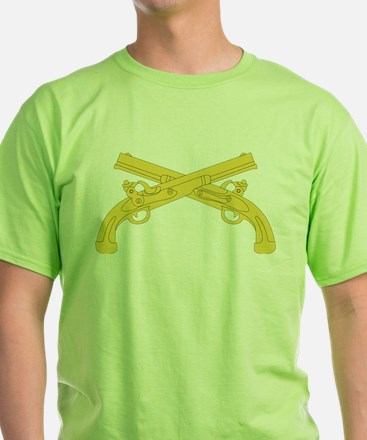 Army Military Police Insignia - Crossed Pistols T-