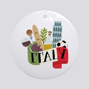 Italy 1 Ornament (Round)