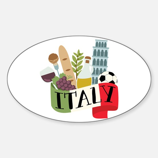 Italy 1 Decal