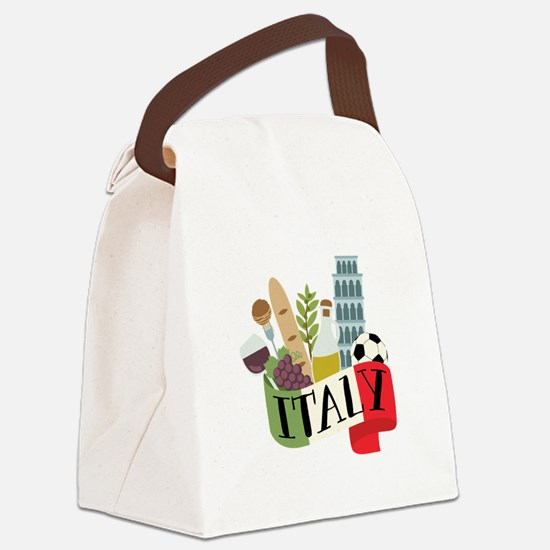 Italy 1 Canvas Lunch Bag