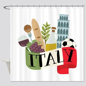 Italy 1 Shower Curtain