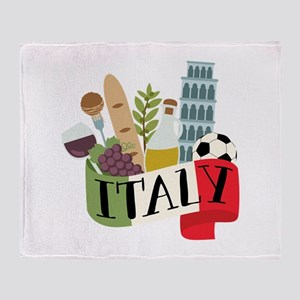 Italy 1 Throw Blanket