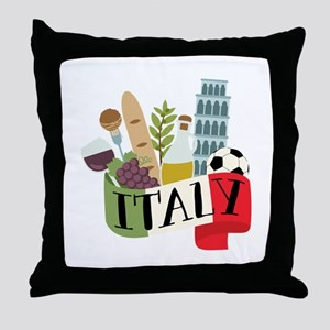 Italy 1 Throw Pillow