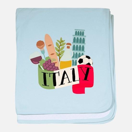 Italy 1 baby blanket