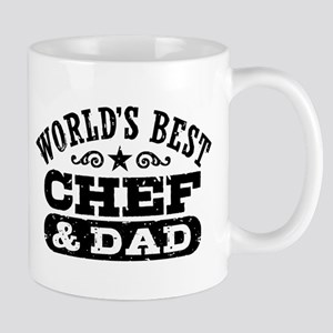 World's Best Chef and Dad Mug