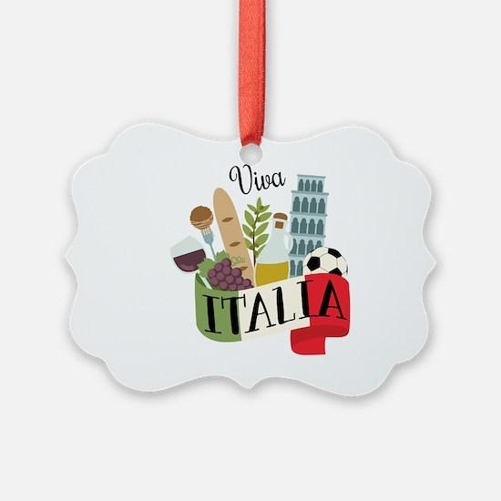 Viva Italia Ornament