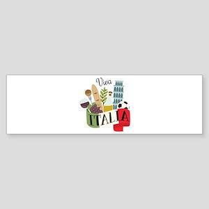 Viva Italia Bumper Sticker