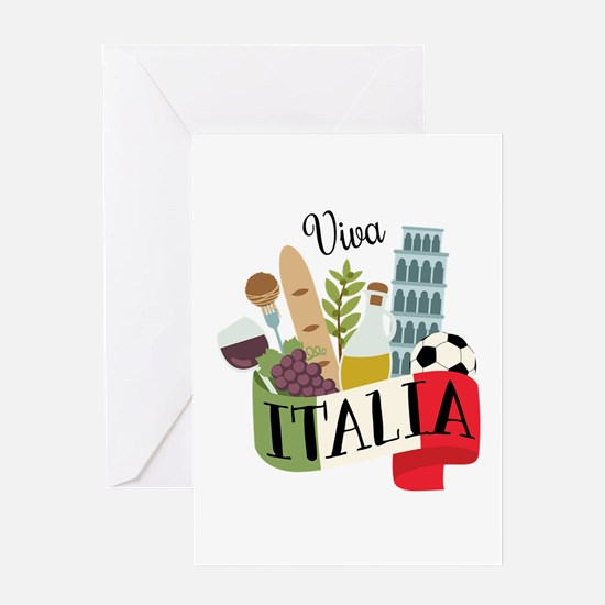 Viva Italia Greeting Cards