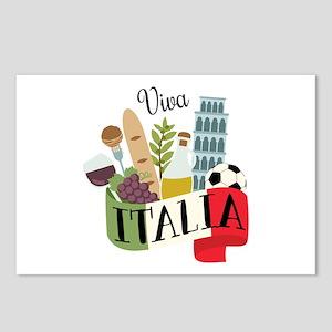 Viva Italia Postcards (Package of 8)