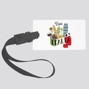 Viva Italia Luggage Tag