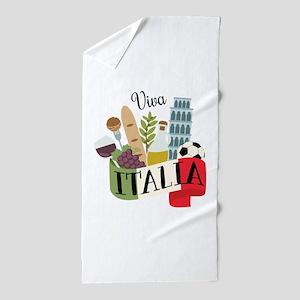 Viva Italia Beach Towel