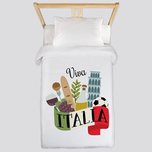 Viva Italia Twin Duvet