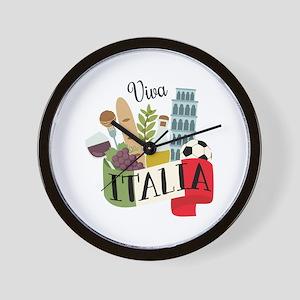 Viva Italia Wall Clock