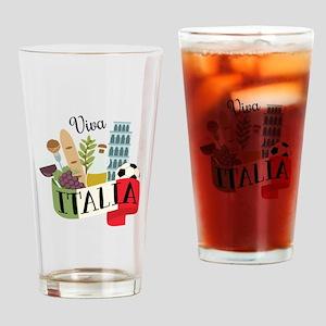 Viva Italia Drinking Glass
