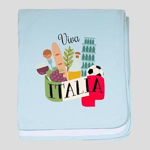 Viva Italia baby blanket