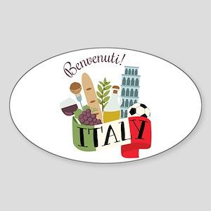 Benvenuti! Italy Sticker