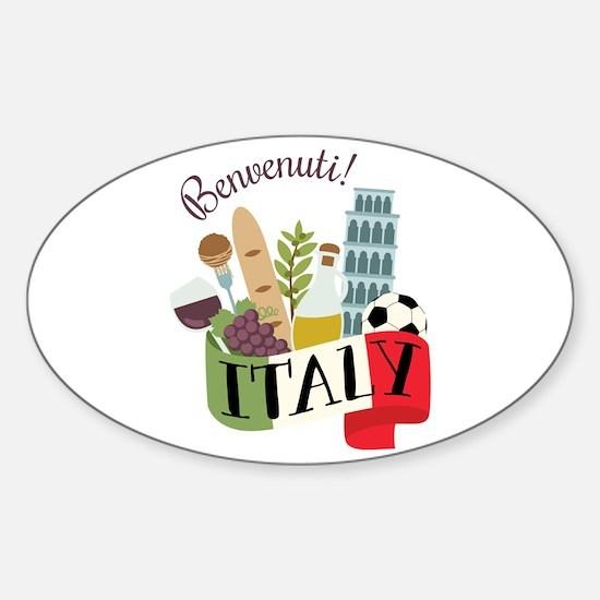 Benvenuti! Italy Decal