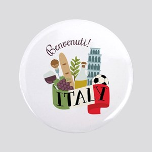 Benvenuti! Italy Button