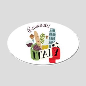 Benvenuti! Italy Wall Decal