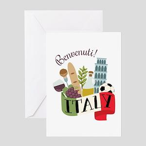 Benvenuti! Italy Greeting Cards