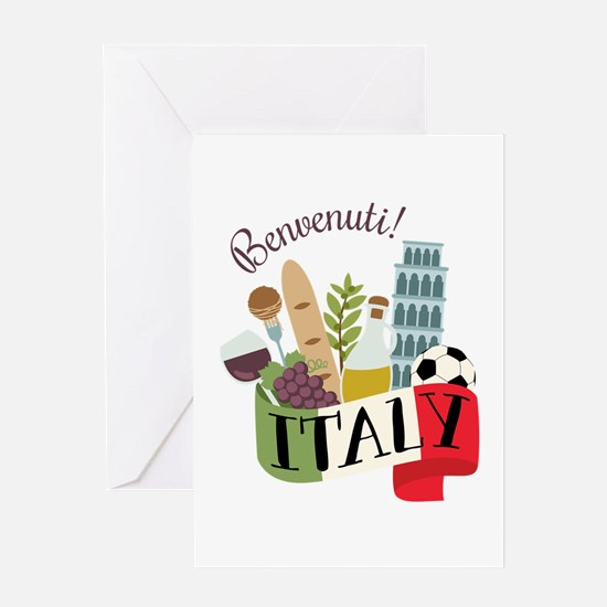 Benvenuti! Italy Greeting Cards