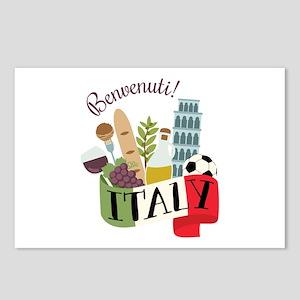 Benvenuti! Italy Postcards (Package of 8)