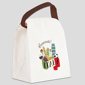 Benvenuti! Italy Canvas Lunch Bag