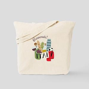 Benvenuti! Italy Tote Bag