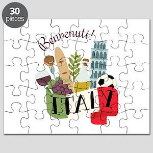 Benvenuti! Italy Puzzle
