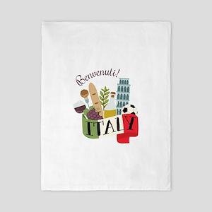 Benvenuti! Italy Twin Duvet