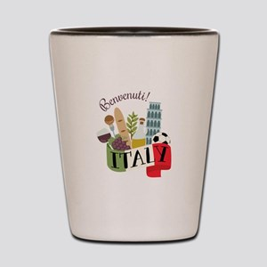 Benvenuti! Italy Shot Glass