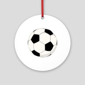 Soccer Ball Ornament (Round)