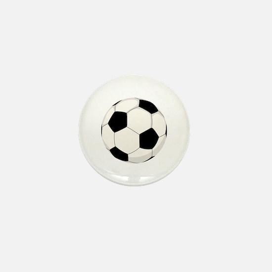Soccer Ball Mini Button